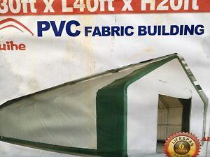 30'x40'x20' Storage Shelter
