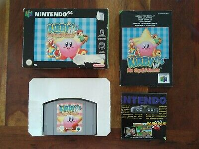 Kirby 64 The crystal shards N64 PAL Complet