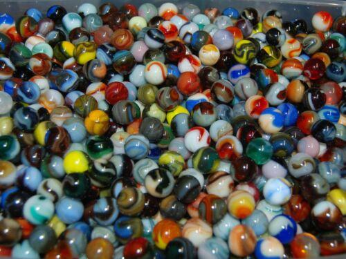 100 Beautiful Jabo Classic Swirls  KEEPER Marbles  1999-2007  SPECIAL LOT 10