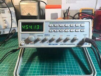 Gw Instek Gfg-8219a Sweep Function Generator 3mhz 6-digit
