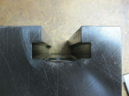 "Pair of 5-1/2""X3-15/16""X4"" T-slot riser milling lathe blocks"