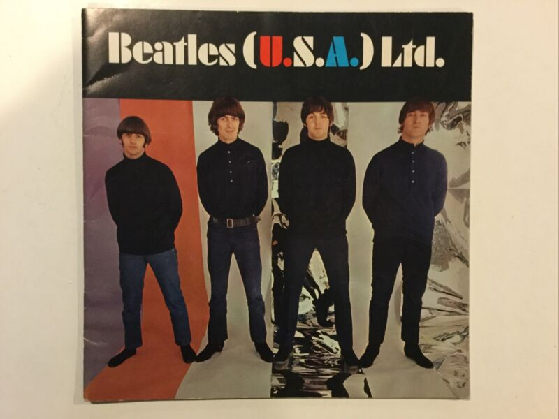 BEATLES (U.S.A.) Ltd. Fan Club Book, Tour Program, 1966