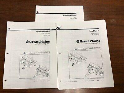 Great Plains 605nt 3p605nt 6 No-till Drill Operators Parts Manual Predeliv