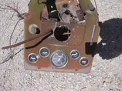 Massey Ferguson 175 Tractor Original Mf Dash Panel Gauges Tachometer