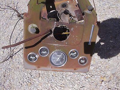 Massey Ferguson 175 Tractor Original Mf Dash Panel Gauges Tachometer