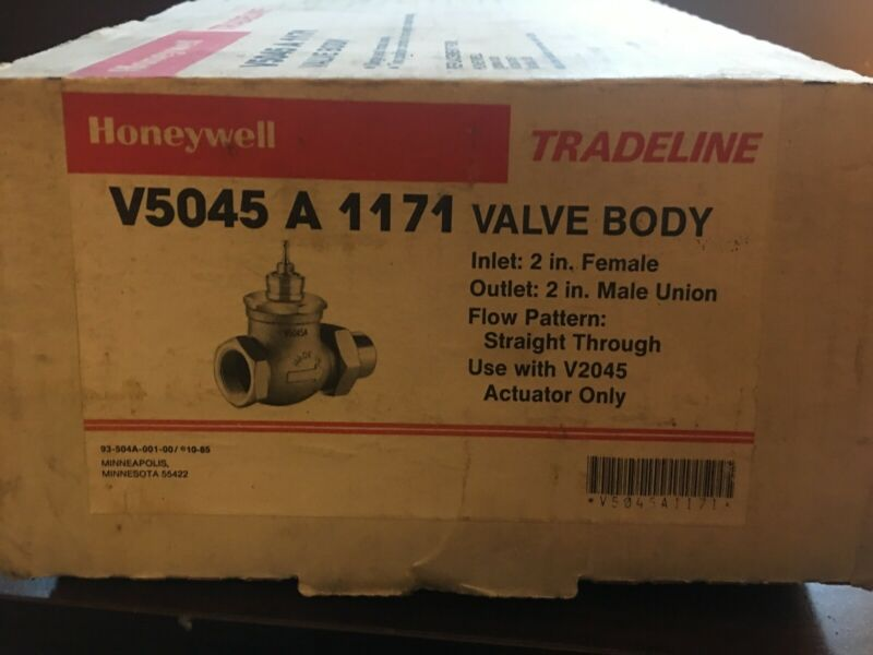 New Honeywell V5045A 1171 Valve Body