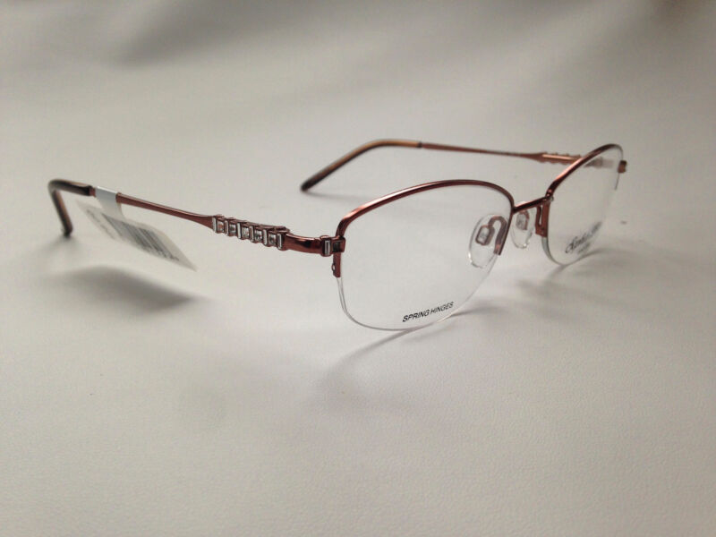 Brand new Sofia Loren Collection M163 Eyeglasses Brown 52-19-135