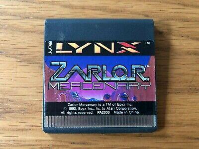 Atari Lynx Unboxed Game - Zarlor Mercenary by Atari Corp / Epyx