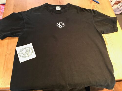CATHERINE WHEEL Vintage 1995 Embroidered Tour T-Shirt XL & DECAL (Rob Dickinson)
