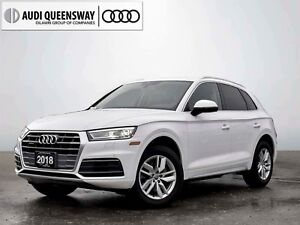 2018 Audi Q5 2.0T Komfort, AWD, Camera, Carplay/Android Auto