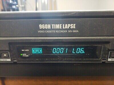 Samsung 960h Time Lapse Video Cassette Recorder Srv-960a
