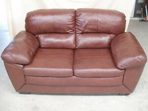MATCHING PAIR LEATHER LOUNGES Goolwa Alexandrina Area Preview