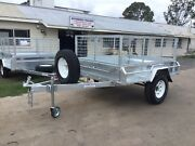 Brand new 7x5 off road box trailer gal spare wheel cage tilt Maryborough Fraser Coast Preview