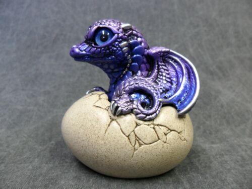 Windstone Editions NEW * Tanzanite Hatching Dragon * Statue Figurine Fantasy