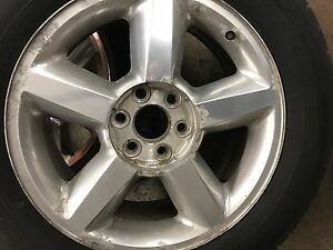 Chevy stock rims and tires