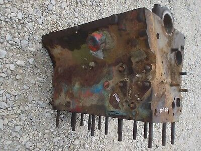 Massey Harris 101 Jr Tractor Good Orignal Mh 4 Cyclinder Gas Engine Motor Block