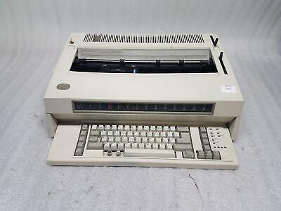Ibm Wheelwriter 15 By Lexmark 6783 Electric Typewriter No Ink As Is Parts Fair