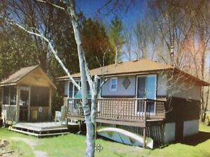 Cottage for rent on Head Lake, kirkfield