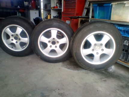 Alloy rims and tyres for sale/ideal for boat or camper trailer