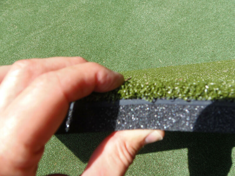"10 x 24 Commercial Duffer™ Golf Mat  1.25"" Thick Hitting Strip By J.R. Mats Inc"