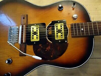 """""""Egmond By Rosetti Vintage Custom Collectable Rat Acoustic Guitar"""""""