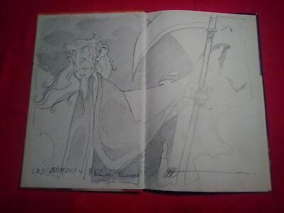Dédicace Halloween éd° 1a TBE Boiscommun Bretagne Ankou mort celte Armorique - Halloween Celte