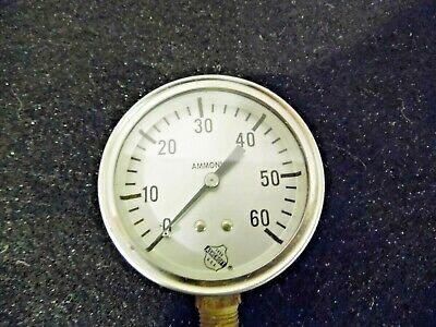 Large 1850 Ashcroft Steampunk Pressure Gauge Usa