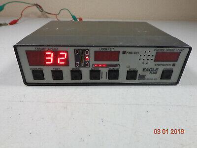 Kustom Signal Eagle Plus Police Radar Speed Detection Control Head Unit - C54
