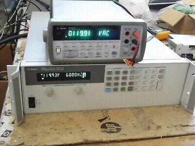 Agilent Hp 6813b Ac Power Sourceanalyzer1750va300v13a 30 Day Warranty