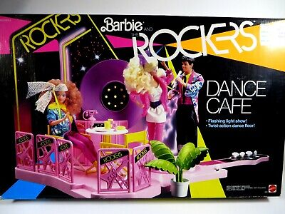 **NIB BARBIE DOLL 1986 VINTAGE AND THE ROCKERS DANCE CAFE 3080
