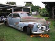 1948 Oldsmobile fastback sedanette Brighton Brisbane North East Preview