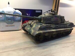 Tank 1/24 téléguidé