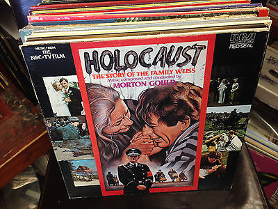 HOLOCAUST Story of the Family Weiss TV SOUNDTRACK vinyl LP Morton Gould NM