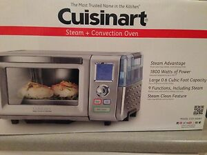 Cuisinart Toaster Steamer Convection Oven Combo