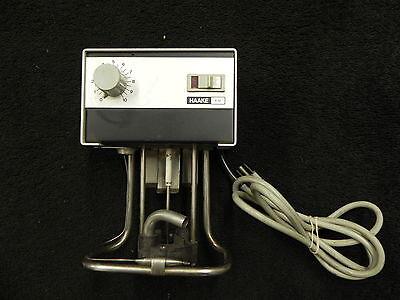 Haake Type E12 Heated Water Bath Circulator Recirculating. E 12. Mixer. Used.