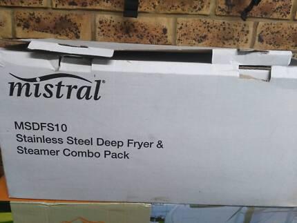 Mistral deep fryer & steamer