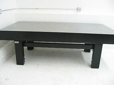 Tested Newport 4 X 8 Optical Table Tmc Micro-g Pneumatic Isolators Tie Bar