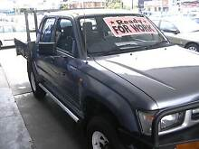 1999 Toyota Hilux MANUAL DUAL CAB, 4X4, FULL SERVICED Granville Parramatta Area Preview