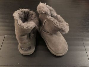 Ugg Baby's boots - grey size 8 USA