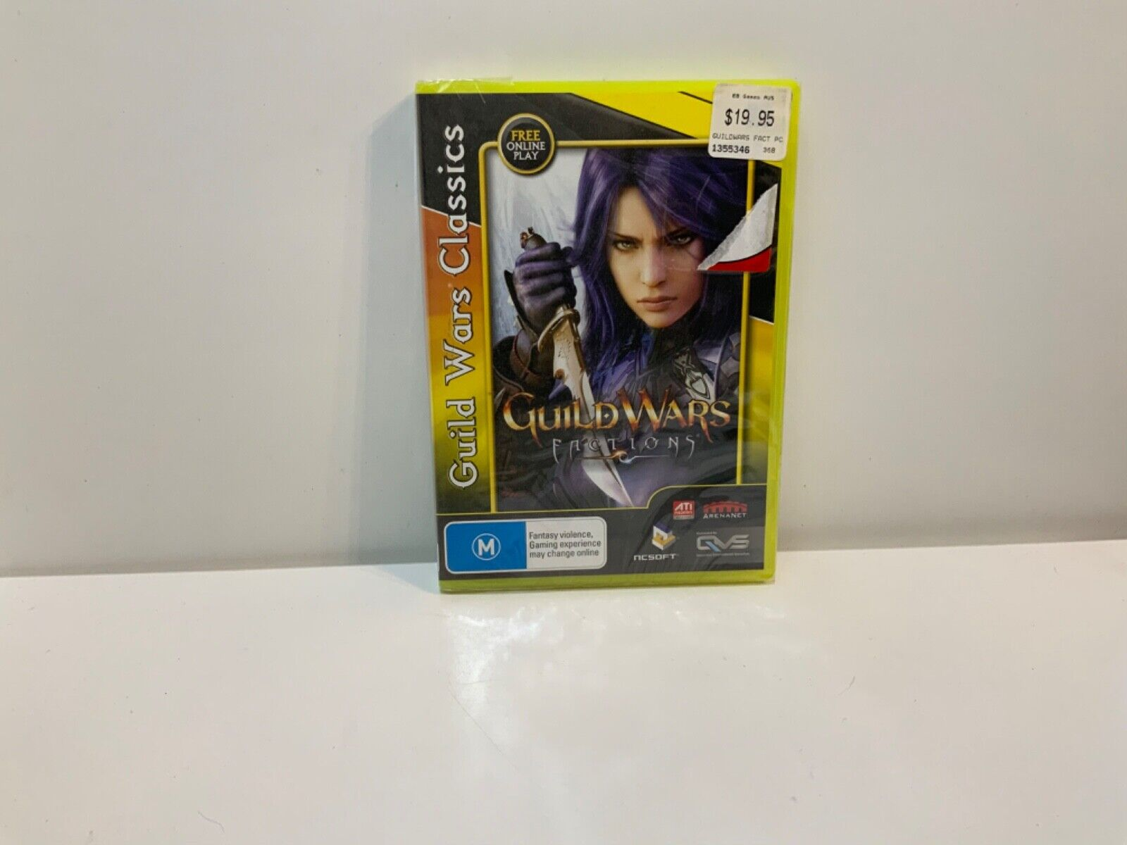 game computer - Guild Wars Factions - PC DVD CD Computer Game - Free Postage!