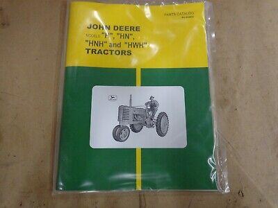 John Deere H Hn Hnh Hwh Parts Catalog Pc-304cc