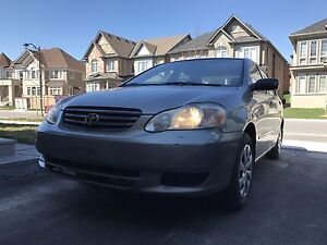 2004 Corolla with low kms