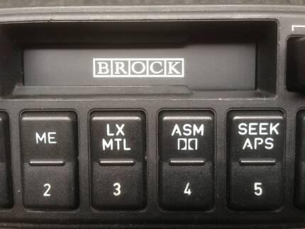 BROCK EA B8 FALCON SR3900 SPECIAL EDITION FORD EUROVOX RADIO SE Mount Waverley Monash Area Preview