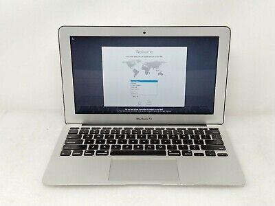 """Apple MacBook Air 5,1 MD223LL/A i5-3317U 1.70GHz 4GB RAM 11.6"""" HDD Used"""