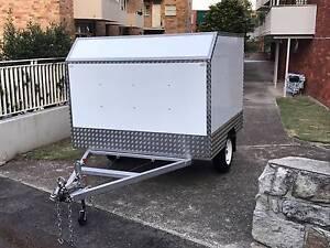 Custom enclosed (kart) trailer Kirribilli North Sydney Area Preview