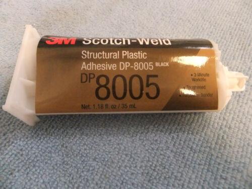 3M Scotch-Weld Structural Plastic Adhesive DP-8005 Black 9ea lot