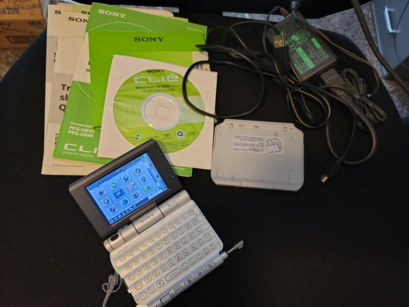 Sony CLIE PEG-UX50, New and working condition
