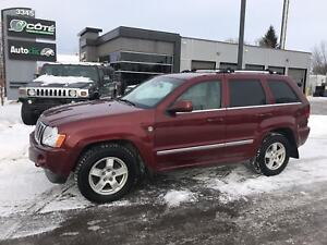 2007 Jeep Grand Cherokee OVERLAND CUIR  TOIT OUVRANT 4X4