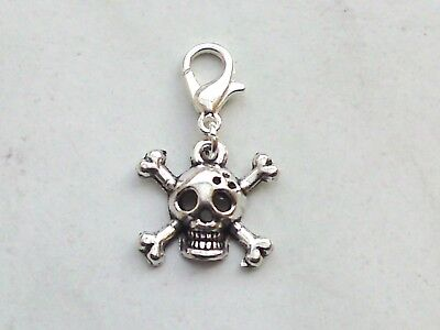 ENKOPF Charm Schädel Skull Gothic Halloween Armband Kette (Halloween Charms)
