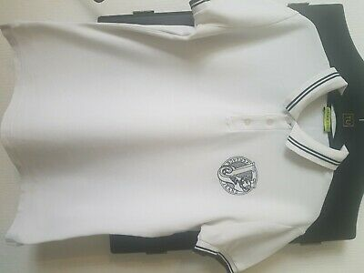 Versace Jeans White Polo Small